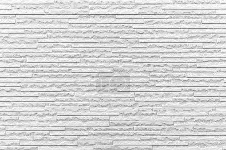 Foto de Blanco moderno patrón de pared de piedra y fondo sin costuras - Imagen libre de derechos