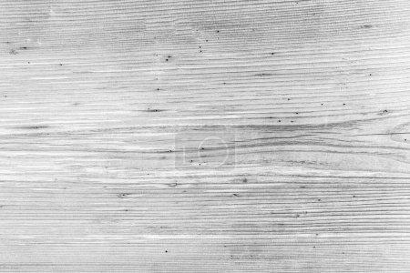 Foto de Panel de tablón blanco vacío textura de la superficie de la pared de madera para el diseño de fondo o decoración - Imagen libre de derechos