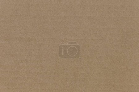 Photo for Cardboard texture top view. Brown paper background closeup. Paper texture brown sheet absrtact background. Light brown wrapping texture - Royalty Free Image