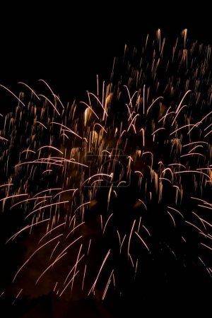 Photo pour 4e feu d'artifice juillet plus de san jose, Californie - image libre de droit