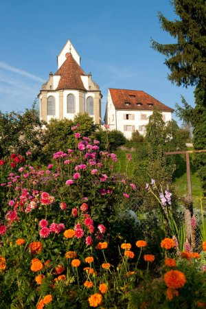 Photo for Church Switzerland in the little village Herznach - Royalty Free Image