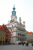 Guild hall at old town in Poznan, Poland