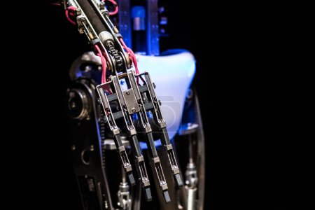 Photo for Mechanical hand of robot, close up view - Royalty Free Image