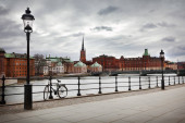 View of the capital of Sweden, Stockholm
