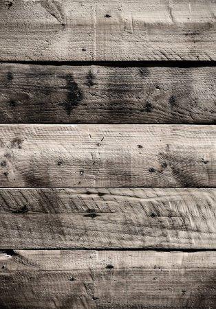 Photo pour Fond de lattes de bois âgé mur - image libre de droit