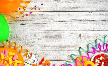 Foto de Fondo de vida de los niños cumpleaños partido - Imagen libre de derechos