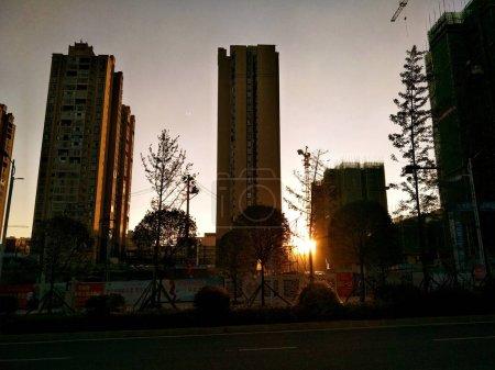 Photo pour Architecture moderne de la ville - image libre de droit