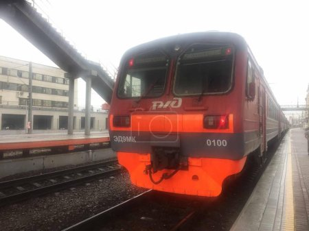 Photo pour Véhicule ferroviaire, train ferroviaire - image libre de droit