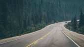 Road in the mountains. Travel concept
