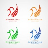 This logo shows a bird This logo can be used in various businesses such as travel business or other businesses Or it can also be used as a company brand and can also be used as an application logo