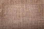 Fond de texture vieille toile de jute marron