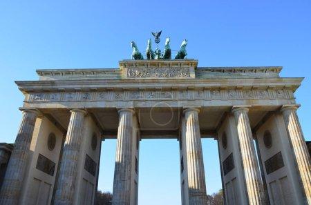 Photo for Brandenburg Gate at sunrise, Berlin, Germany - Royalty Free Image