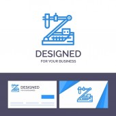 Creative Business Card and Logo template Biology Chemistry Gen