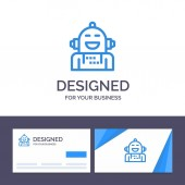 Creative Business Card and Logo template Android Artificial Em