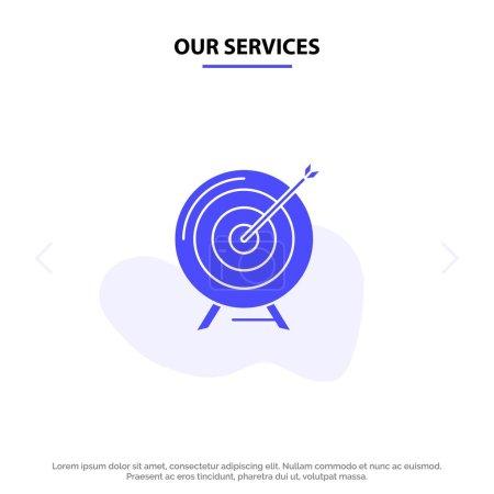 Nos services Cible, Objectif, Archive, Entreprise, Objectif, Mission, Succès