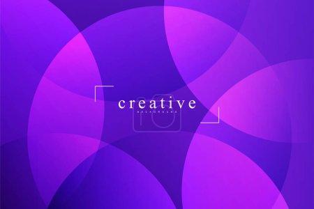 Photo pour Page d'atterrissage fluide, fond violet. Fluide, liquide, ondulé, gradient, fluide, fond de forme dynamique. Couleurs de fond tendance et modernes. Modèle créatif de conception de bannière. - image libre de droit