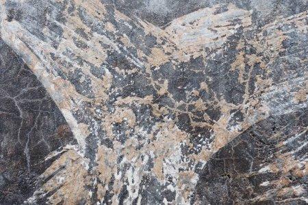 Photo pour Vieille surface en béton texturé altérée . - image libre de droit