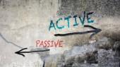 Wall Graffiti Active vs Passive