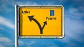 Street Sign Active vs Passive