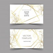 Vector Orchid floral botanical flowers Black and white engraved ink art Wedding background card decorative border