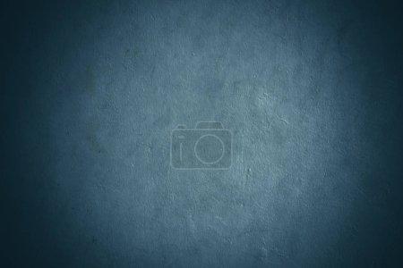 Photo pour Fond de texture de mur de béton bleu foncé - image libre de droit
