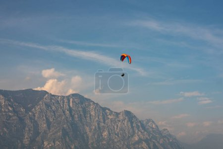 Photo for Paragliding in Malcesine -Lago di Garda - Italy - Royalty Free Image
