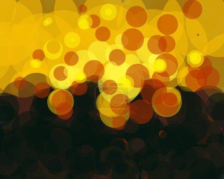 Foto de Abstract circle structures and forms, digital art - Imagen libre de derechos
