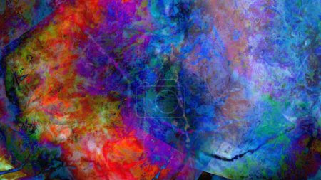 Photo for Creative colorful background concept in digital art - Royalty Free Image