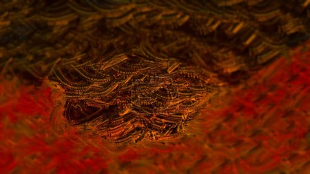 Photo pour Illustration numérique de fond coloré abstrait - image libre de droit