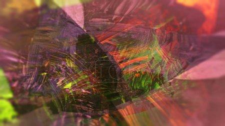 Photo pour Illustration abstraite de fond coloré numérique - image libre de droit