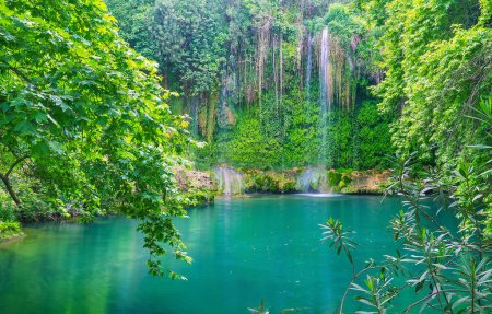 Kursunlu waterfall is the proud