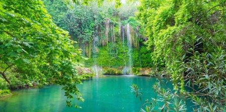 The Kursunlu waterfall and beautiful