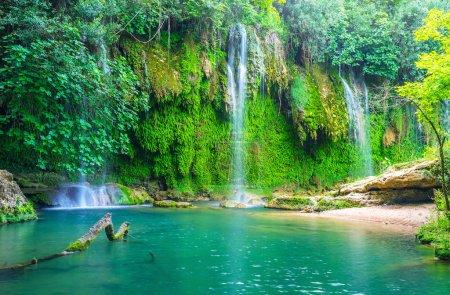 Kursunlu nature park with waterfalls