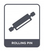 rolling pin icon in trendy design style rolling pin icon isolated on white background rolling pin vector icon simple and modern flat symbol