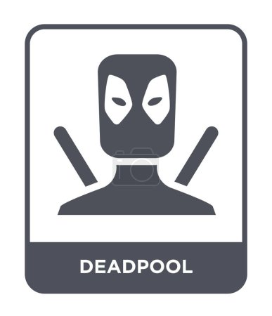 deadpool icon in trendy design
