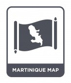 martinique map icon in trendy design style martinique map icon isolated on white background martinique map vector icon simple and modern flat symbol