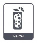 mai tai icon in trendy design style mai tai icon isolated on white background mai tai vector icon simple and modern flat symbol