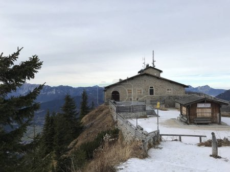Kehlsteinhaus Eagles Nest in the