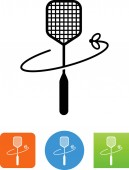 Fly swatter vector icon