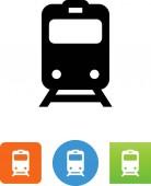 Commuter train vector icon