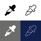 Eye Dropper Icon Set