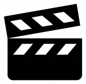Movie Clapper Vector Icon