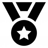 Medal Award Vector Icon