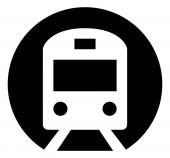 Subway Train Vector Icon