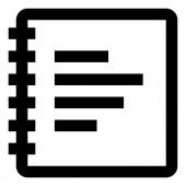 Spiral Bound Notebook Icon