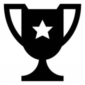 Championship Trophy Vector Icon