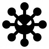 Harmful Virus Disease Icon