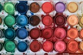 """Постер, картина, фотообои """"Красочные акварельные краски палитры"""""""
