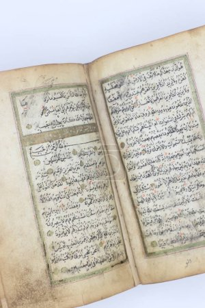 Photo for The Holy Quran, Old antique Quran - Royalty Free Image