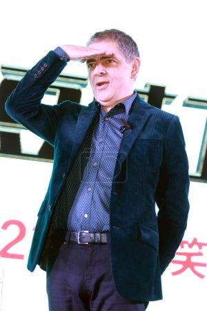 English actor Rowan Atkinson attends